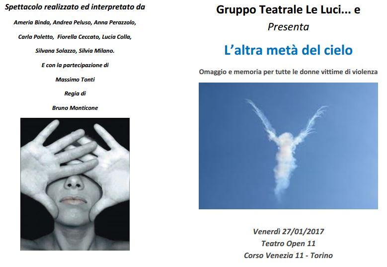 Spettacolo teatrale -L'altra metà del cielo