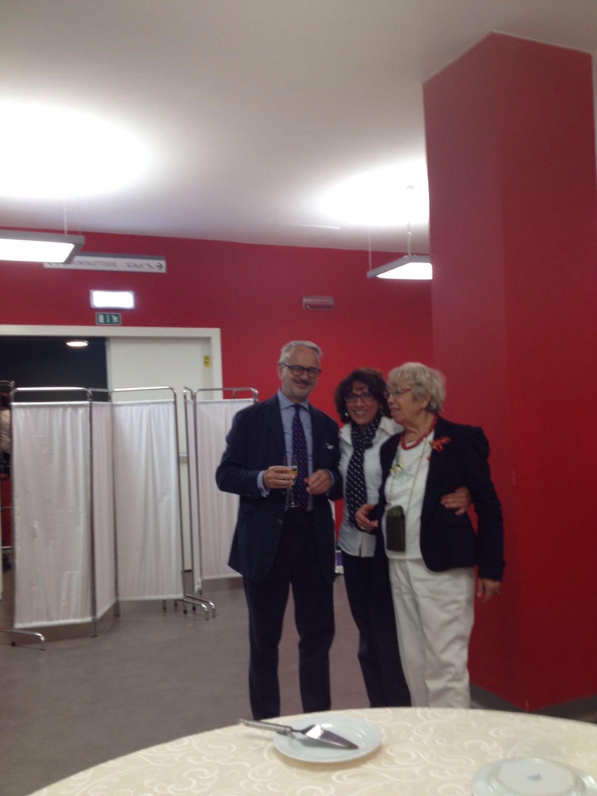 Presidente e Vice Presidente all'inaugurazione di una struttura a Rivoli